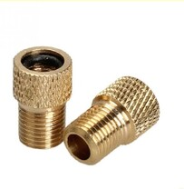BRASS ADAPTOR FOR BIKE VALVE X1