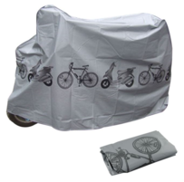 BIKE COVER 26-27.5 WHEEL SIZE SILVER