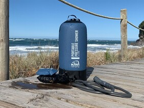 KIWI CAMPING PORTABLE PRESSURE SHOWER