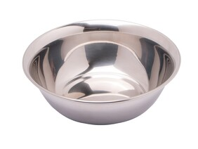 PLATE BOWL STAINLESS STEEL 160MM