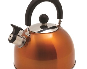KETTLE KIWI CAMPING WHISTLING DELUXE